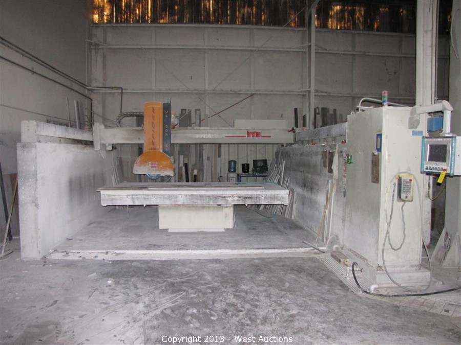 West Auctions - Auction #1: Machinery Plus Granite and Marble
