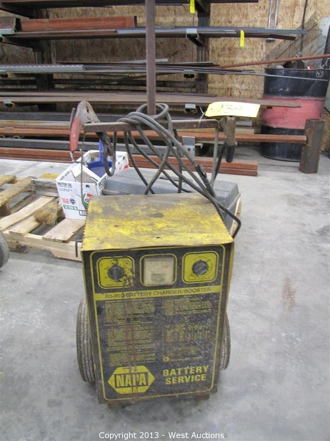 west auctions auction crane truck trailers equipment and tools rh westauction com Napa 85-2250 Battery Charger Napa 85-2250 Battery Charger