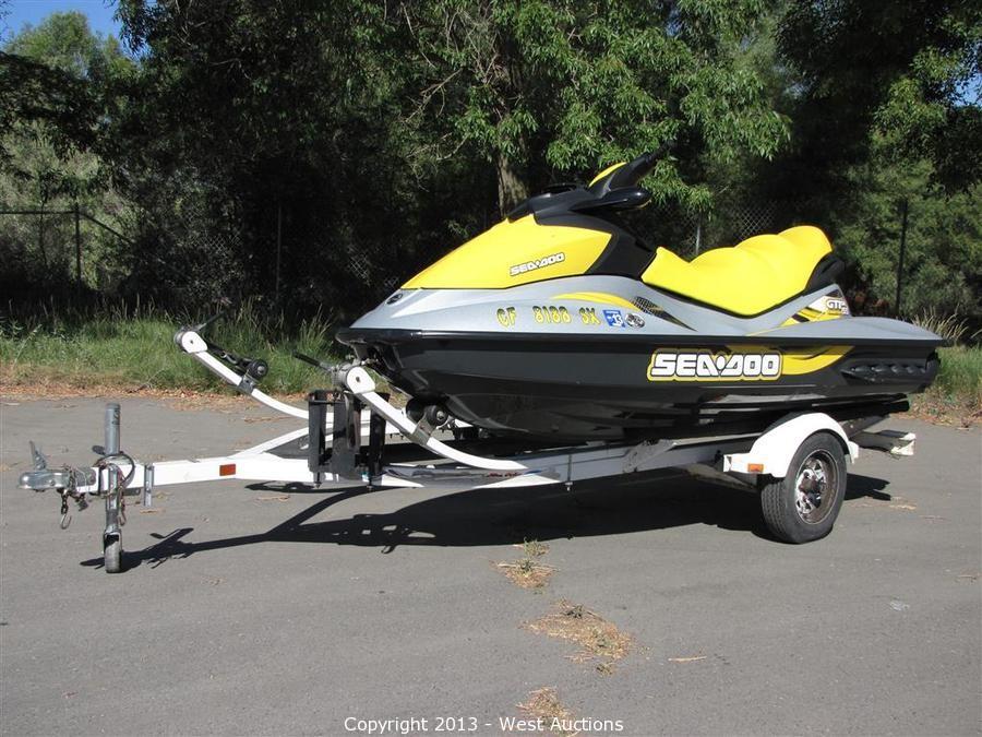 West Auctions - Auction: 2008 Cobalt Bowrider Boat, 2007 Sea Doo Jet ...