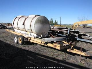 23' Implement Trailer with 1,025 Gallon Tank