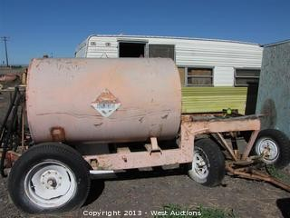 Custom Made Fuel Trailer