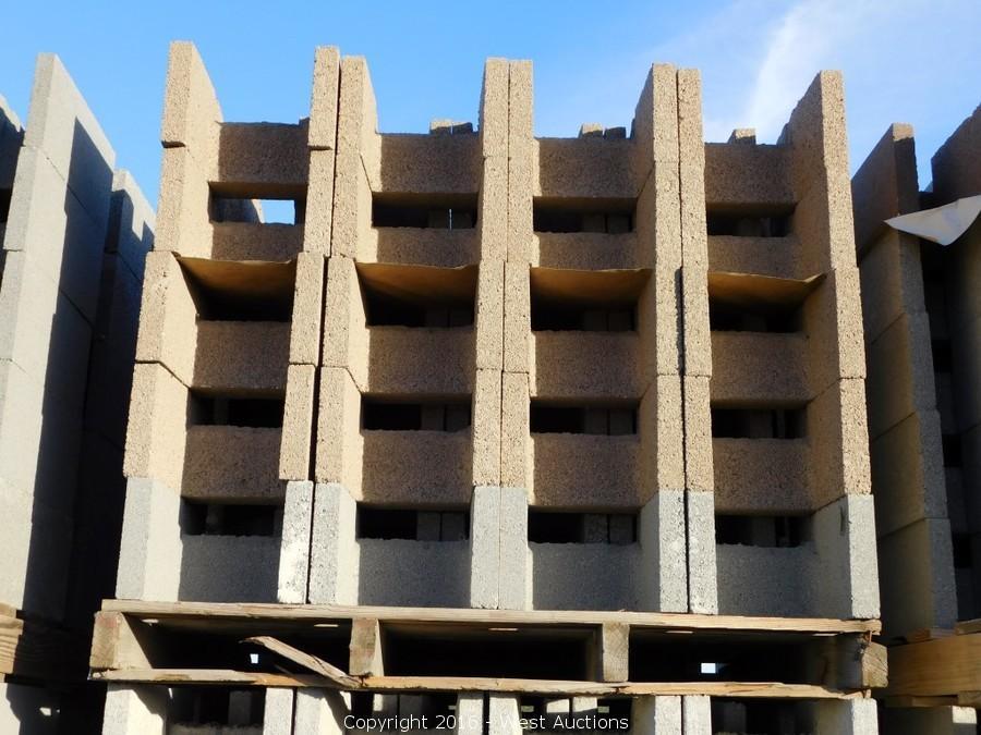 West Auctions - Auction: Auction #1: Stone Pavers, Concrete Blocks