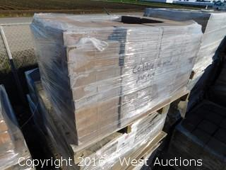 (1) Pallet of  Cobble Stone - Giant - Mojave Blend