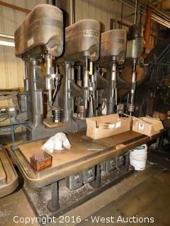 Footburt (4) Spindle Drill Press