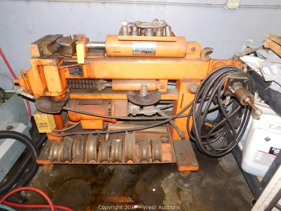 Exhaust Tubing Bender >> West Auctions Auction Liquidation Of Car Care Center A