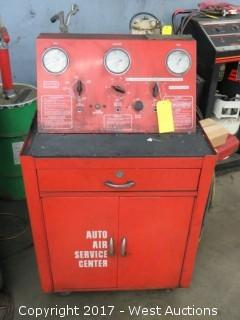 Auto Air Conditioner Service Unit