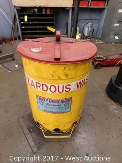 Safe Guard 15 Gallon Hazardous Waste Can (empty)