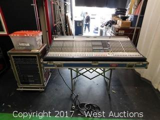 Soundcraft MH3 Mixing Board and Dual Power Supply - Complete System