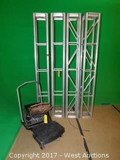(4) ITTC Truss with Custom Made Mounting Plates