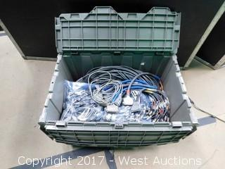 Video Wall-Driver Cables with Tote