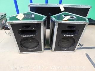 Klipsch Heresy Monitor Wedges Touring Edition Speakers
