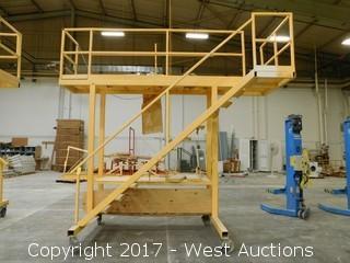 Rolling 9.5' Warehouse Platform