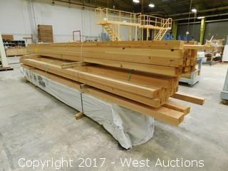 Lot of 40+ Lumber