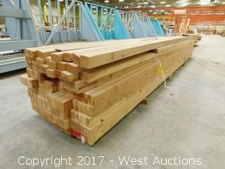 Lot of 45+ Lumber