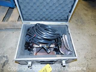 Case with (4) Lowell Tota Mountable Halogen Lamps