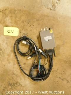 IAI SDI to Component/Composite Video 4-Channel Balanced Audio
