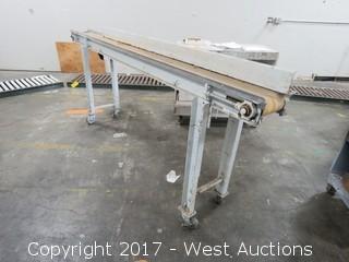 Rolling Electric Belt Conveyor