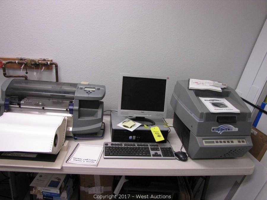 West Auctions - Auction: Surplus Auction of Sign & Imprint Shop and