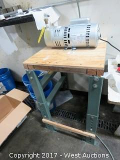 Gast Carbon Vane Pump with Table
