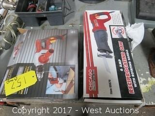 Chicago Electric Drill and Reciprocating Saw