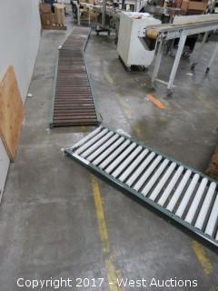 (3) Roller Conveyors