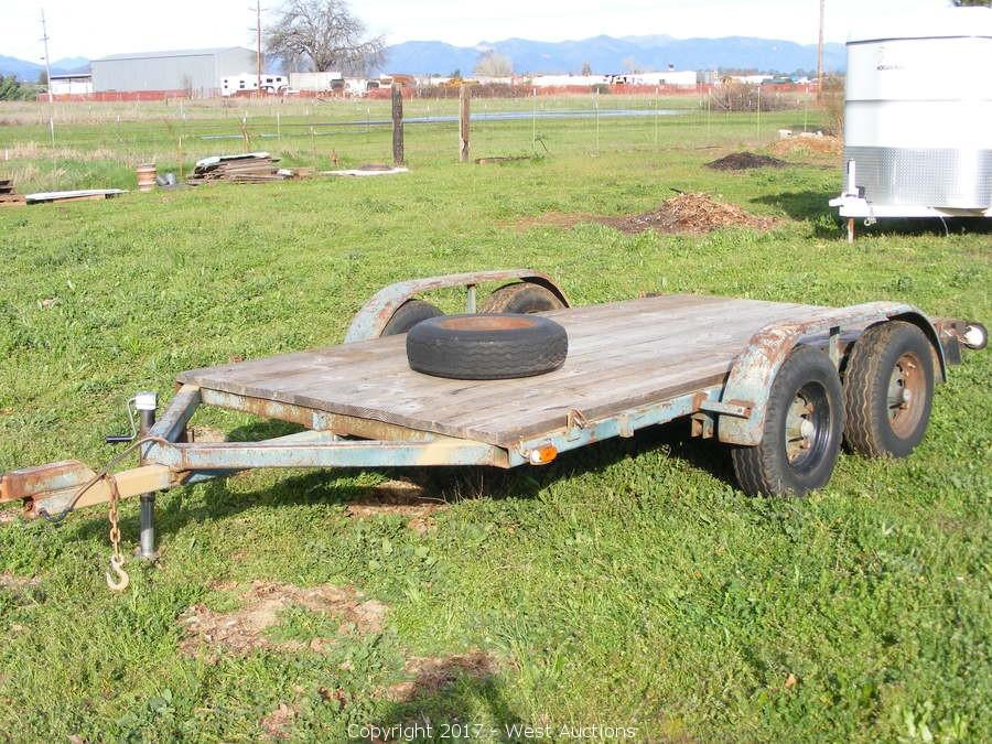 West Auctions Auction Bankruptcy Auction Of John Deere Tractor