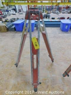 Vintage Survey Tripod