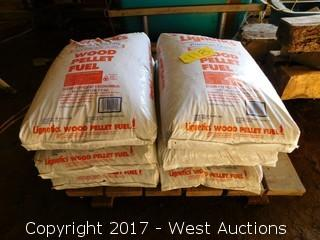 (6) Bags of Lignetics Wood Pellet Fuel