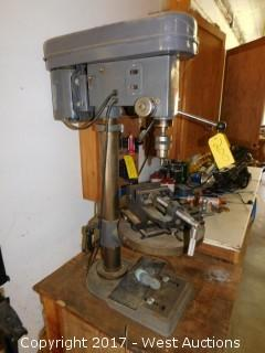 Chicago Industrial G-14 Bench Top 12 Speed Drill Press