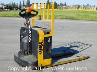 Yale 4,000 lbs. Capacity Electric Pallet Jack