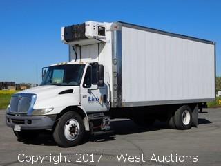 2006 International 4300 TD466 22.5' Refrigerated Box Truck