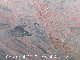 """(1) 112""""x59"""" Juperana Colombo 2CM Granite Slab"""