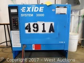 Exide System 3000 Battery Charging Unit