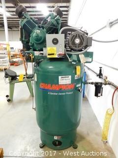Champion 120 Gallon 10 HP Electric Air Compressor