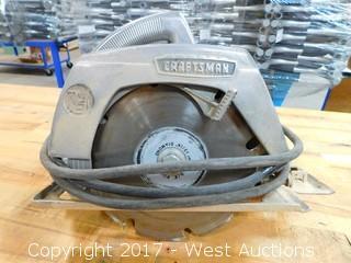 "Craftsman 7 1/2"" Electric Circular Saw"