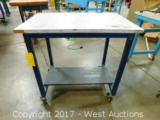 2' x 3' Rolling Table