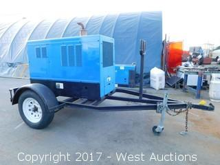 Miller Big Blue 402P Trailer Mounted Welding Generator