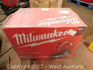 "Milwaukee 6177-20 14"" Abrasive Cut-Off Machine in Packaging"