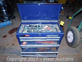 Craftsman Toolbox Full of Tools
