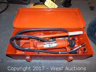 Hein-Werner 4 Ton 8 Piece Hydraulic Ram Kit