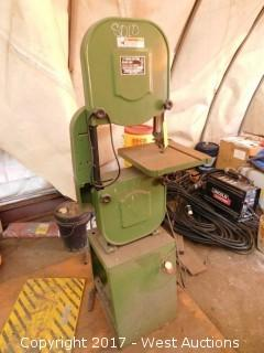 "Central Pneumatic 14"" Wood Cutting Bandsaw"