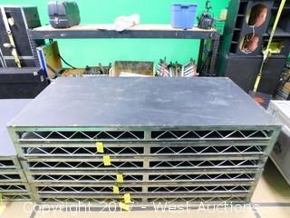 (1) 8'x4' Steel Deck Stage Platform