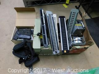 Assorted Electronics: Junction Boards, Testing Equipment