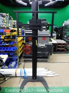 Draper Adjustable Monitors Pedestal