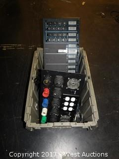 (3) Junction Boards in Tote