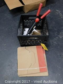 Crate of Banding Supplies