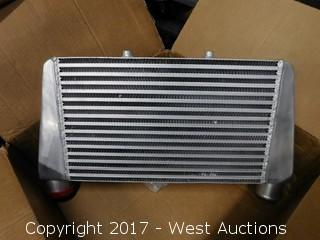 Automotive Intercooler for Race Car Motor