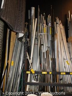 Various Conduit and Poles - Rack Section