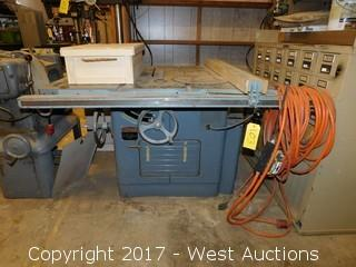West auctions trucks trailer construction equipment and tools lot 0103 delta rockwell 12 14 tilting arbor saw greentooth Gallery