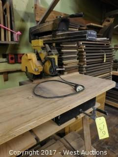 """Rockwell 10"""" Deluxe Radial Arm Saw"""